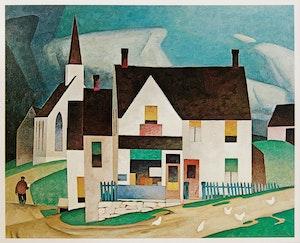 Artwork by  Books and Reference, A.J. Casson / A Tribute
