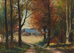 Artwork by Thomas Albert Stone, Early Autumn, Lake Rosseau