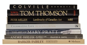 Artwork by  Books and Reference, A Selection of Seven Books on Canadian Art