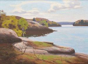 Artwork by George Thomson, Shoreline Landscape