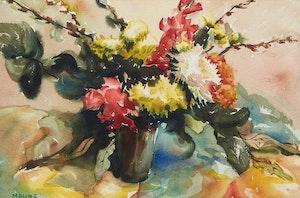 Artwork by  Maunz, Floral Still Life