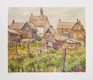 Artwork by  Books and Reference, A.J. Casson: Watercolours