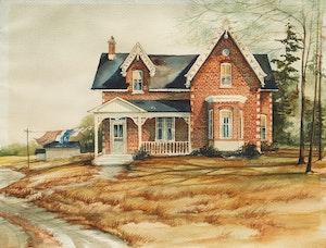 Artwork by Trisha Romance, Country House