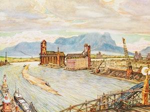Artwork by Nicholas Hornyansky, Set of Four Prints