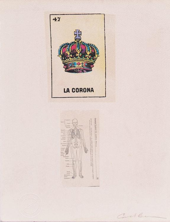 Artwork by Carl Beam,  La Corona