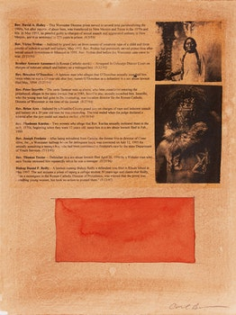 Artwork by Carl Beam, List of Reverends