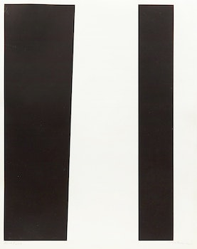 Artwork by Guido Molinari, Untitled (Vertical blanc), 1956-67