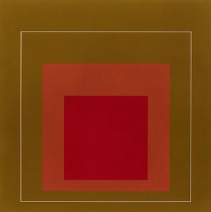 Artwork by Josef Albers, WLS-IV
