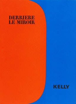 Artwork by Ellsworth Kelly, Derrière le Miroir No. 149