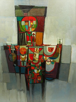 Artwork by Gerald Trottier, The Chair