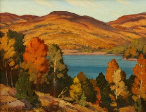 Artwork by Herbert Sidney Palmer, Carson Lake, Ontario