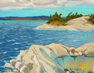 Artwork by Joachim George Gauthier, Snug Island, Georgian Bay