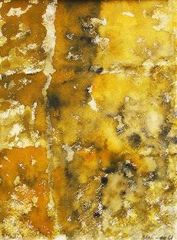 Artwork by Jean Albert McEwen, Mauve assiégé de jaune