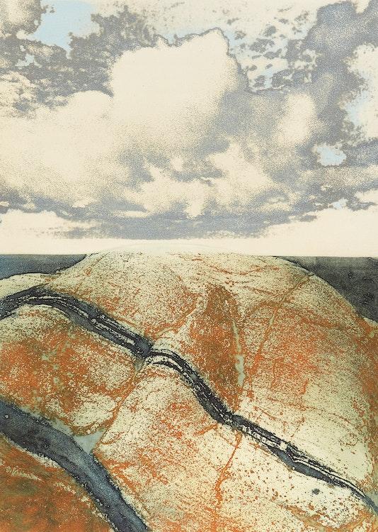 Artwork by Edward John Bartram,  Precambrian Spirit, Northern Image Series