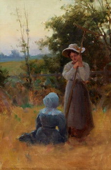 Artwork by Farquhar McGillivray Strachan Knowles, In the Pasture