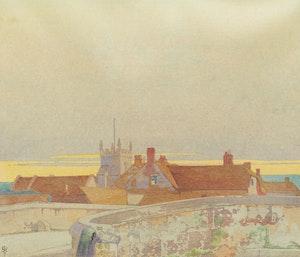Artwork by Walter Joseph Phillips, Wylye Mill Bridge