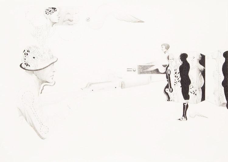 Artwork by Esther Warkov,  Target Practice