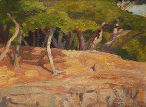 Artwork by William Brymner, Landscape with Trees