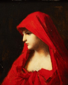 Artwork by Attributed to Jean-Jacques Henner, Fabiola