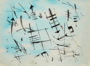 Artwork by William Ronald, Untitled (1952)