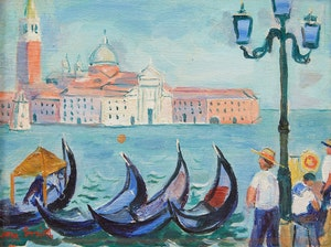 Artwork by Marjorie (Jori) Smith, Venice