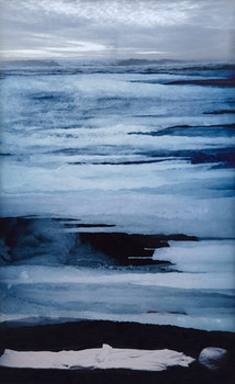 Artwork by Angela Grauerholz, Untitled (Water and Robe)