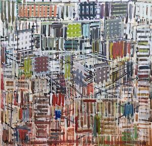 Artwork by Denyse Thomasos, Urban Jewels Series (Dismantle #4) 1998