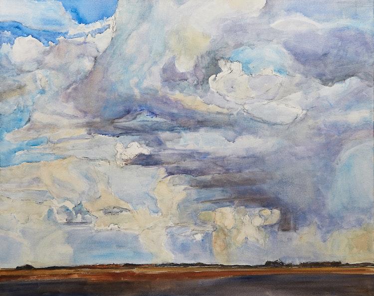Artwork by Dorothy Elsie Knowles,  Prairie Sky