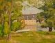 Thumbnail of Artwork by John Goodwin Lyman,  Moulin du Crochet, Laval-des-rapides