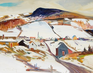 Artwork by Louis Tremblay, Notre-Dame-des-Monts, Charlevoix