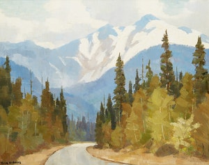 Artwork by Thomas Keith Roberts, Road to Garibaldi