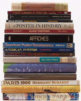 Artwork by  Books and Reference, Selection of Sixteen Books on Poster Arts