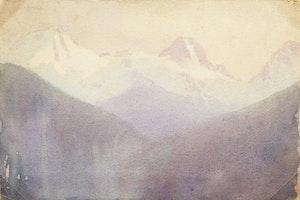 Artwork by Frederic Marlett Bell-Smith, Mountain Peak