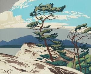 Artwork by Alfred Joseph Casson, White Pine; Above La Cloche; Northern Church