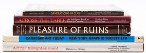 Artwork by  Books and Reference, Five Books on Canadian and International Arts