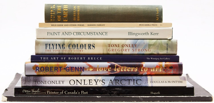 Artwork by  Books and Reference,  Nine Books on Canadian Art