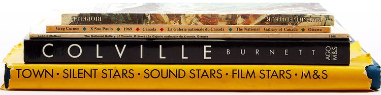 Artwork by  Books and Reference,  Five Books on Canadian Artists