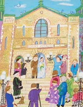 Artwork by Miyuki Tanobe, La Marriage de Florentine