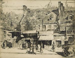 Artwork by Herbert Raine, Craig Street, Montreal