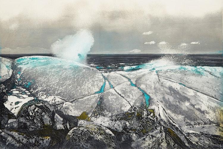 Artwork by Edward John Bartram,  March Ice #2
