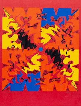Artwork by Alfred Pellan, Zodiaque