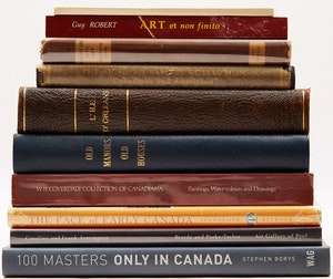 Artwork by  Books and Reference, A Selection of Ten Canadian Art Reference Books