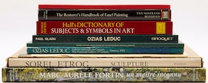 Artwork by  Books and Reference, Nine Art Reference Books