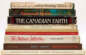 Artwork by  Books and Reference, Nine Canadian Art Reference Books