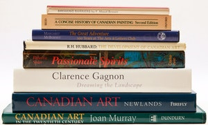 Artwork by  Books and Reference, Eight Canadian Art Reference Books