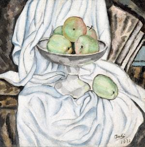 Artwork by Salvador Dalí, Nature morte aux pommes, 1923