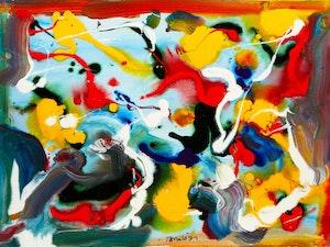 Artwork by William Ronald, Montreal Breakdown