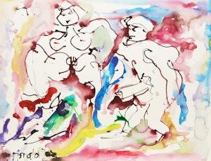 Artwork by William Ronald, Bjanka & Friend