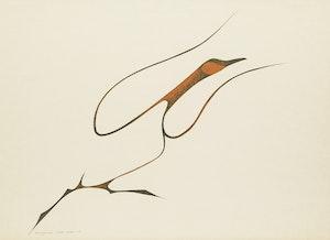 Artwork by Benjamin  Chee Chee, Bird in Flight