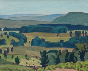 Artwork by Alfred Joseph Casson, Haliburton